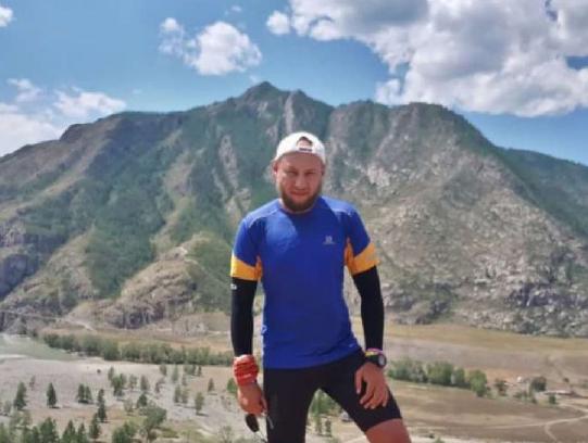 Ультрамарафонец  Иван Давыдов прибыл в Северную Осетию в рамках забега по Кавказу